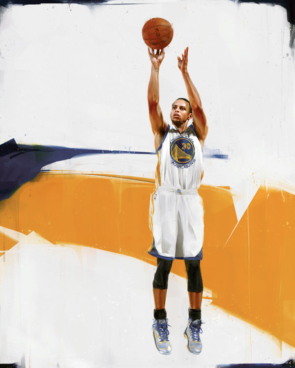 RareInk x Stephen Curry by Denis Gonchar (1)