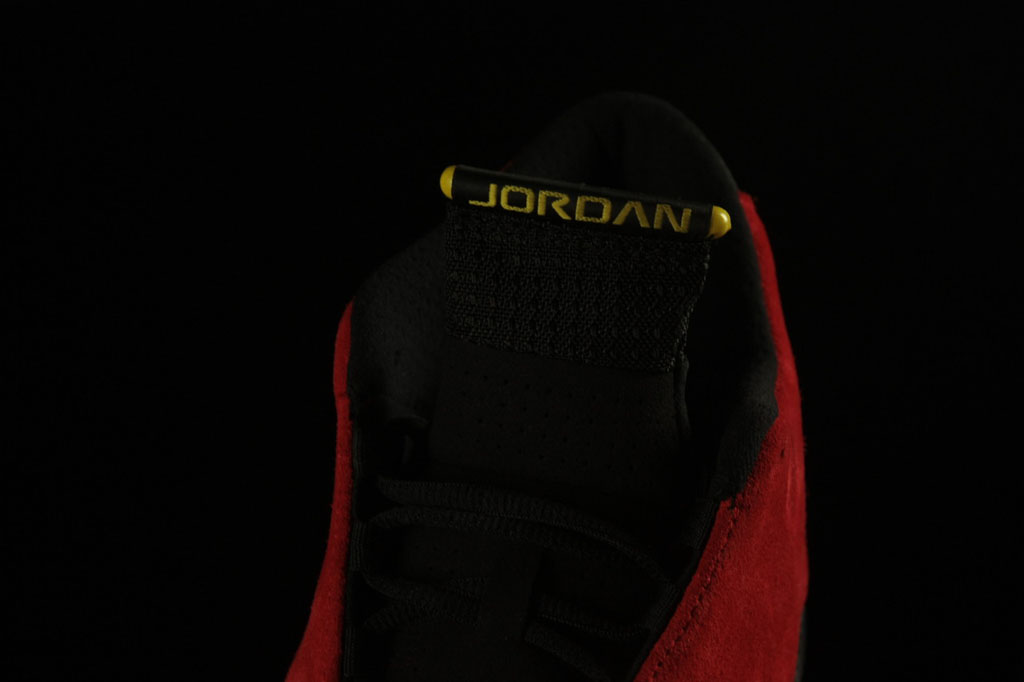 on sale 512d5 4c06c Air Jordan XIV 14 Ferrari Red Suede 654459-670 (6)