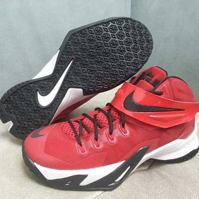 Nike LeBron Zoom Soldier 8 Red/Black-White (1)