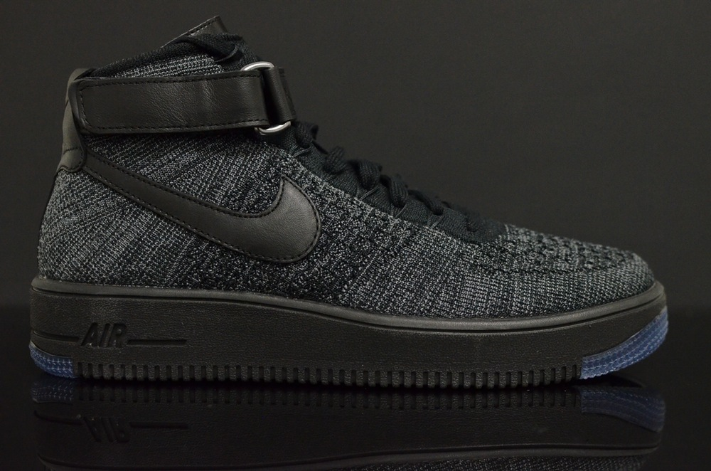 Nike Air Force 1 Flyknit Black (1)