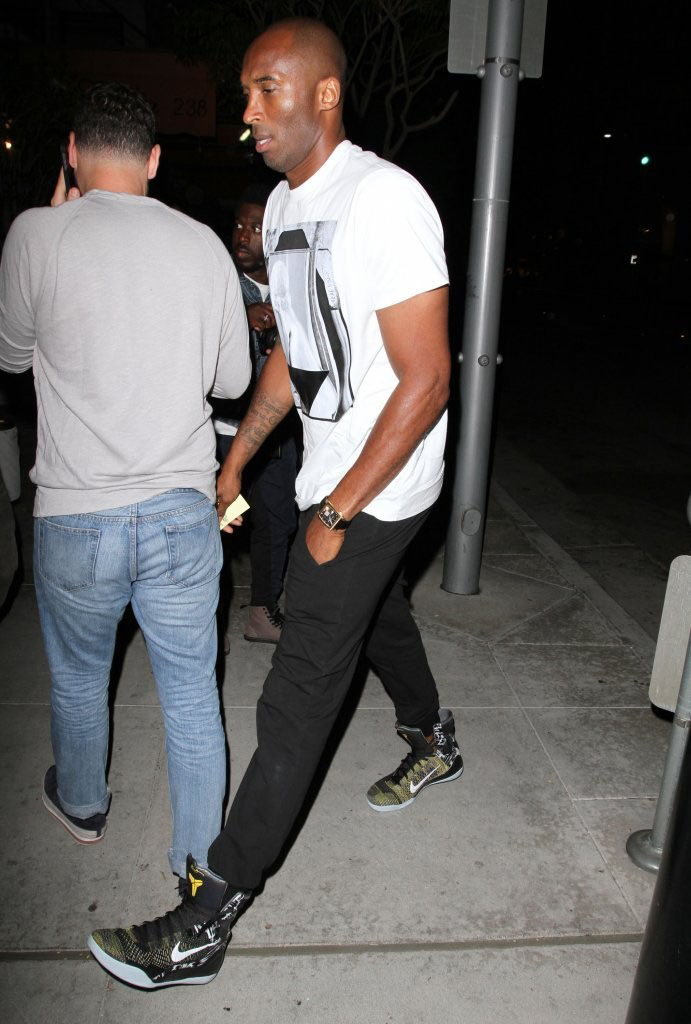 Kobe Bryant Has Lunch with Michael Jordan in Beverly Hills (2)
