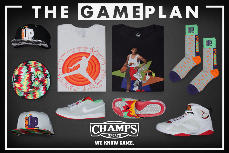 051625c3d354 The Game Plan by Champs Sports Presents the Jordan Hare Collection ...