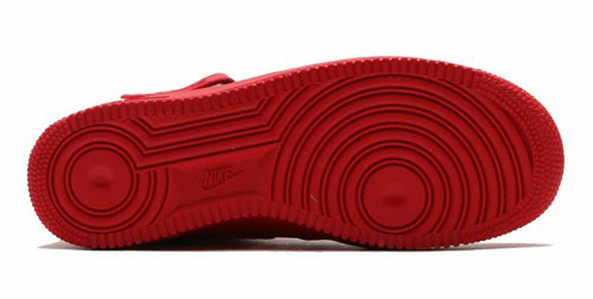 Nike Air Force 1 Mid All Red Sole