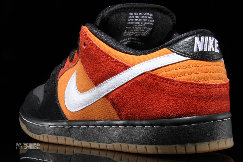 A Poor Man s  Raygun  Nike SB Dunk Low. A familiar black and orange ... ea1201ae73