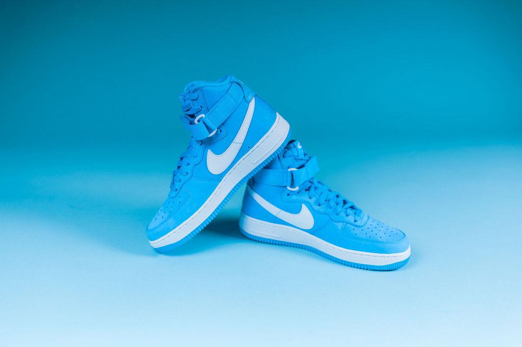 f6dab24bbd7f Nike Air Force 1 High University Blue 743546-400 (7)