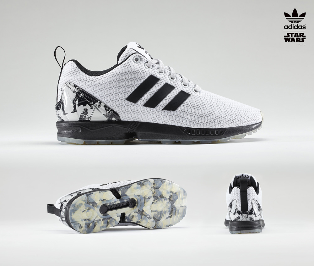 lowest price e1508 315b0 Adidas Flux Star Wars