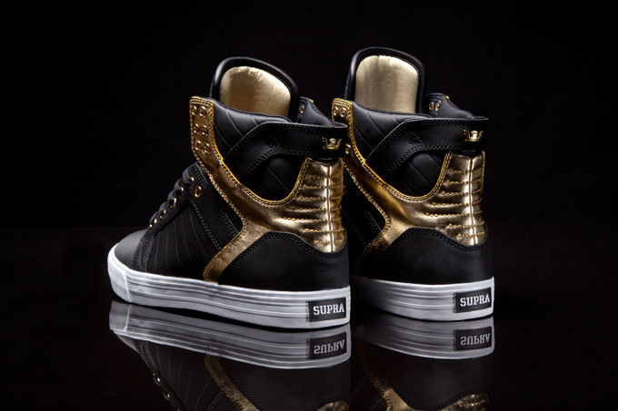 Supra Skytop Black Gold (3)
