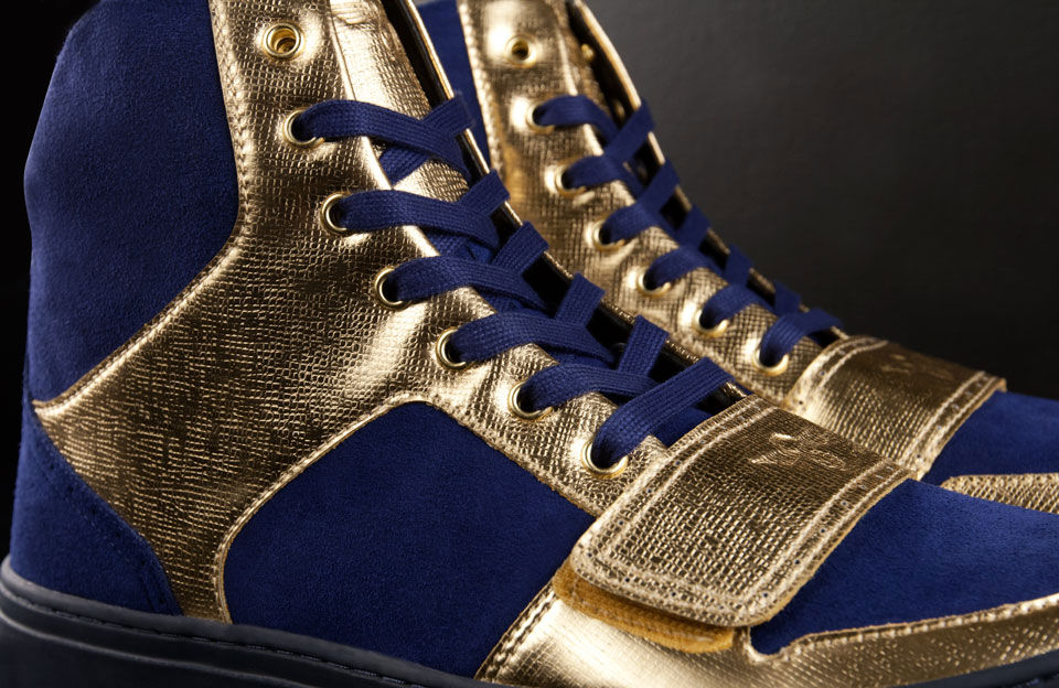 Creative Recreation Metallic Collection Cesario X Indigo Gold (1)