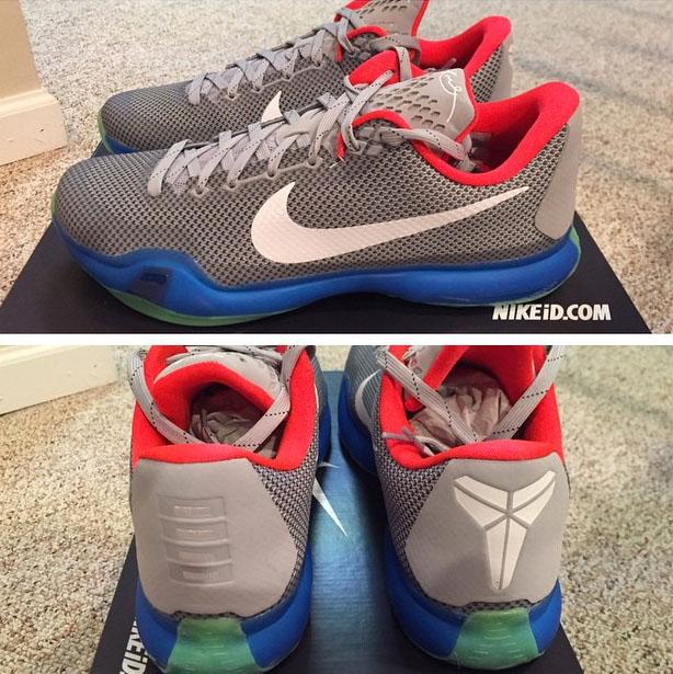 new product 2f5e6 3ec86 Nike iD Kobe 10 Inspector Gadget
