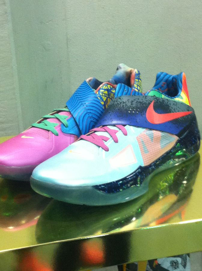 Randy Williams Displays Rare Nike KD Shoes (11)