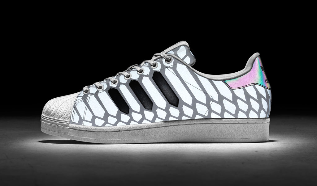 the 39 xeno 39 adidas superstar returns in silver sole collector. Black Bedroom Furniture Sets. Home Design Ideas