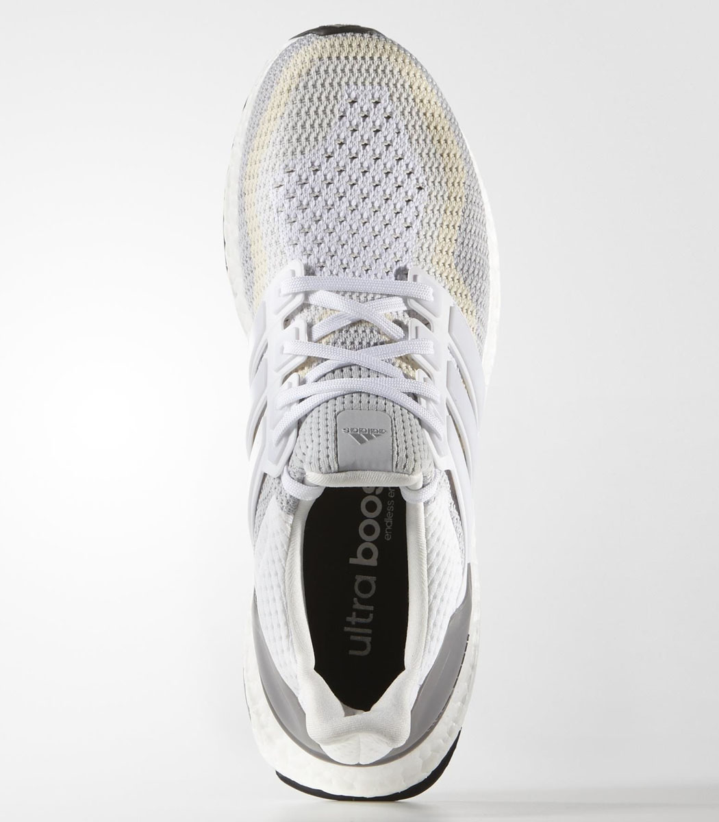 adidas Ultra Boost 2016 Wave White/Grey-Cream (2)