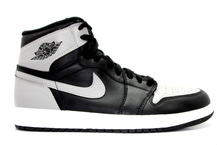 Nike Air Jordan 1 Black And Grey