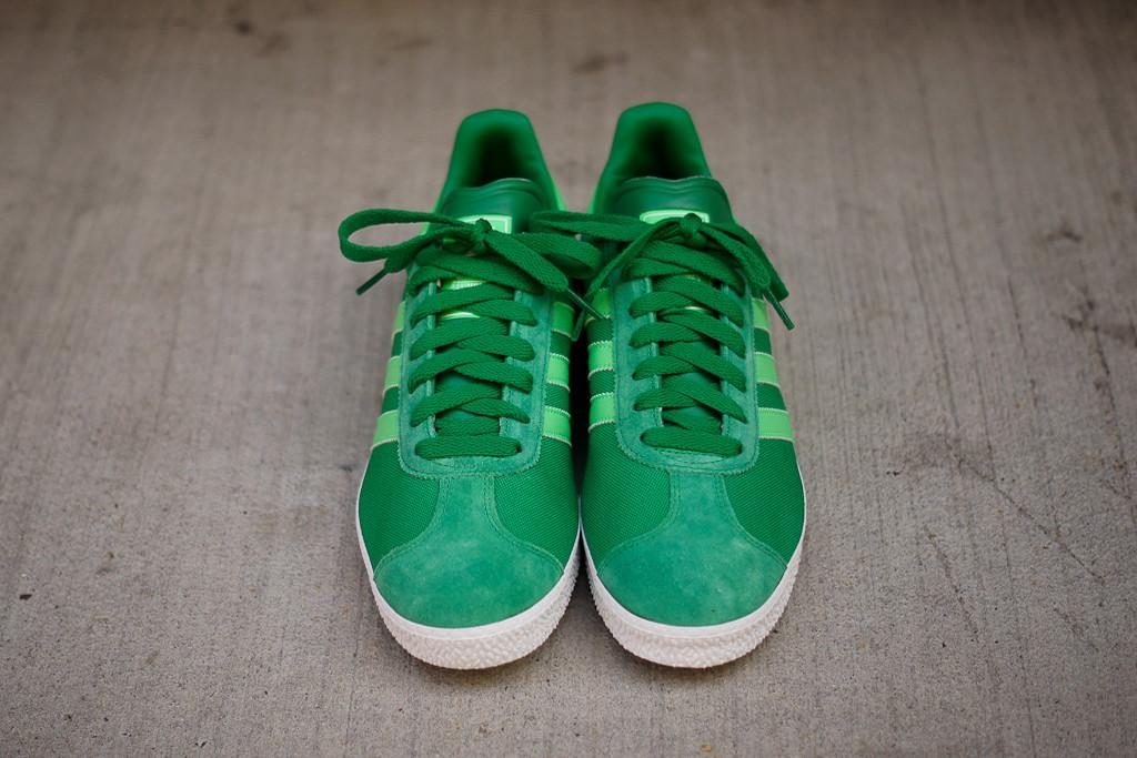 adidas gazelle 2 green