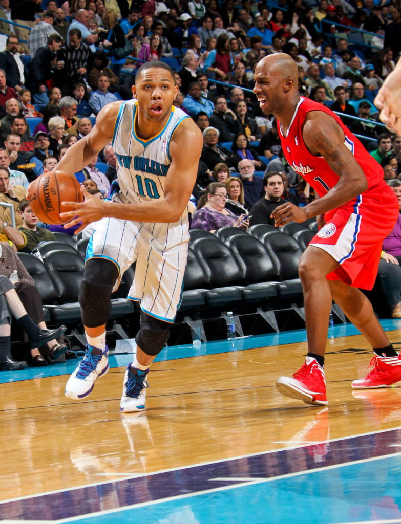 Eric Gordon & Chauncey Billups wearing adidas Crazy Fast