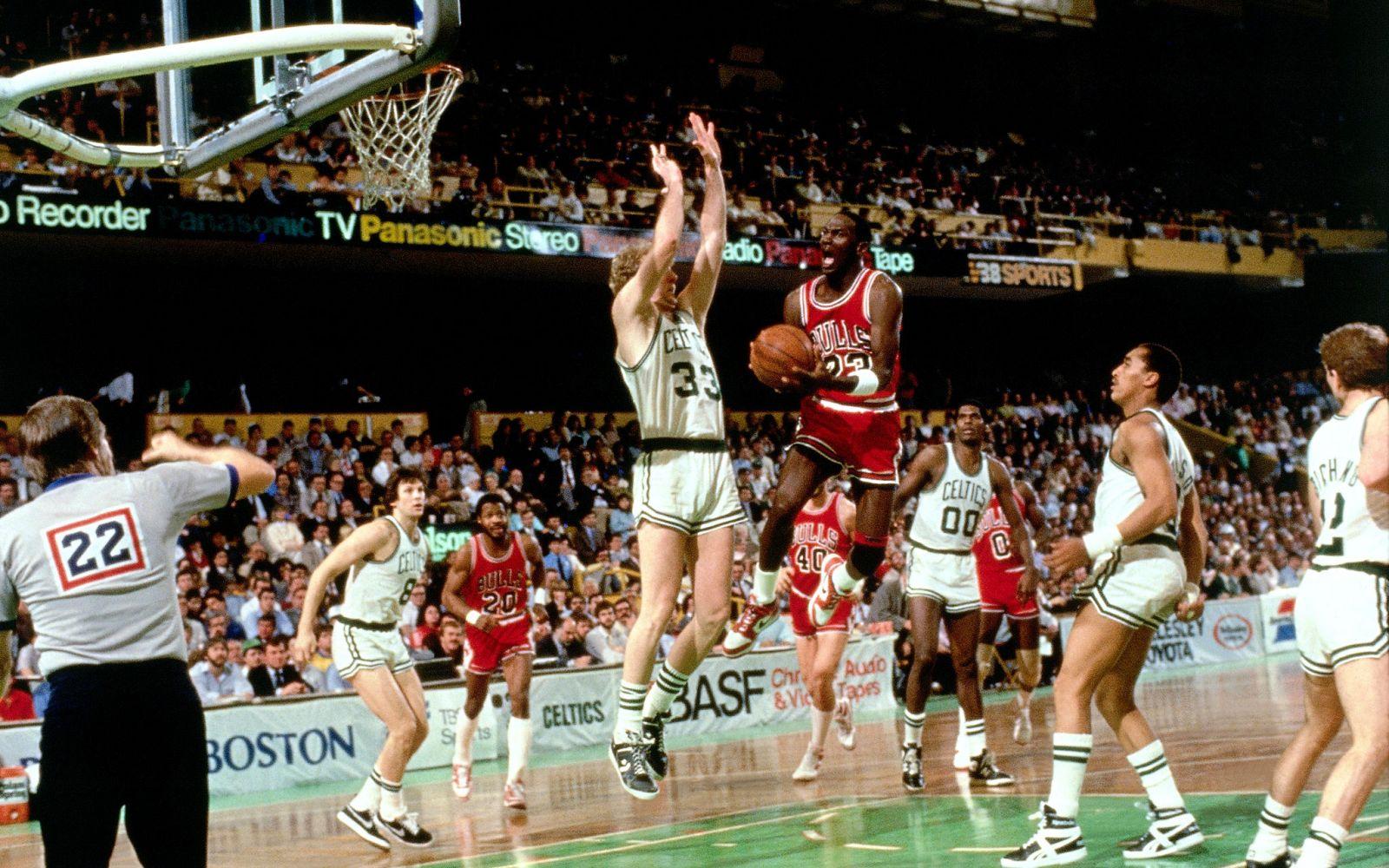 3d2b8151e426 Moments in Sneaker History  Michael Jordan Sets NBA Playoff Record ...