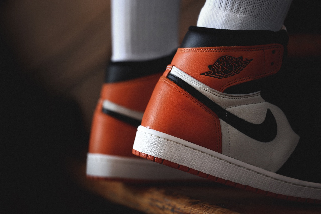 See How the 'Shattered Backboard' Air Jordan 1s Look On-feet