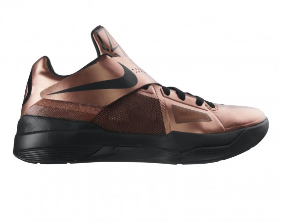 Nike zoom kd iv christmas day copper sole collector