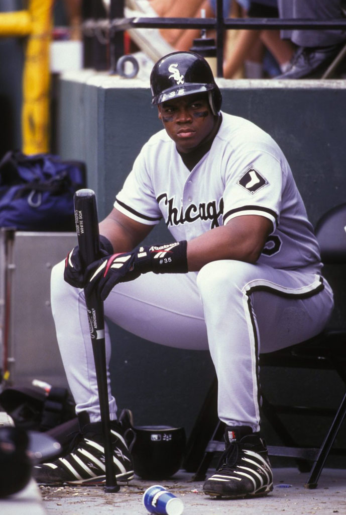 Frank Thomas Wearing Reebok Big Hurt (2)