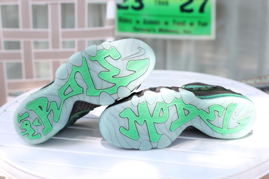 white out foams for sale green barkley posite