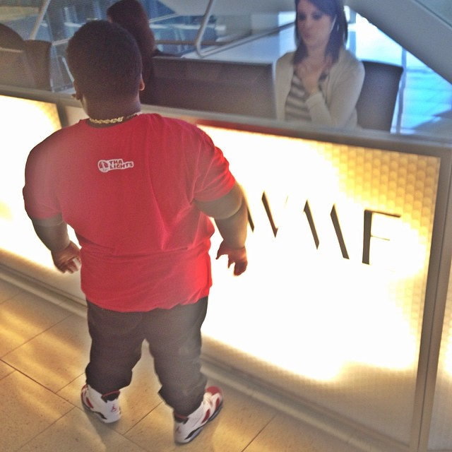 TerRio wearing Air Jordan VI 6 Carmine