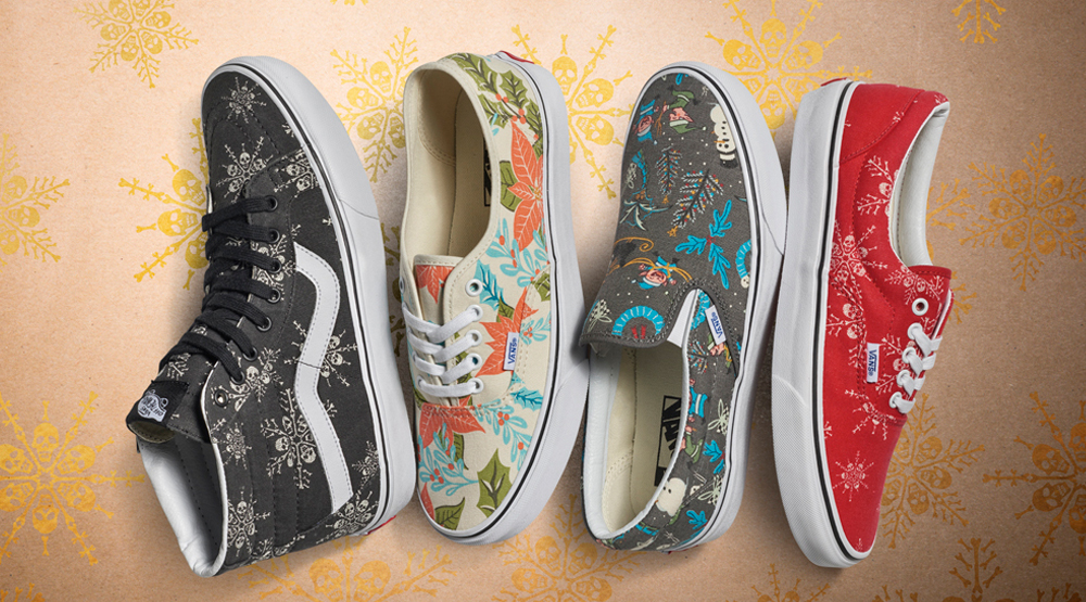 Vans Spreads Holiday Cheer With