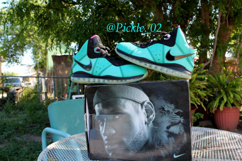 Spotlight // Pickups of the Week 6.9.13 - Nike LeBron 8 South Beach by Pickle
