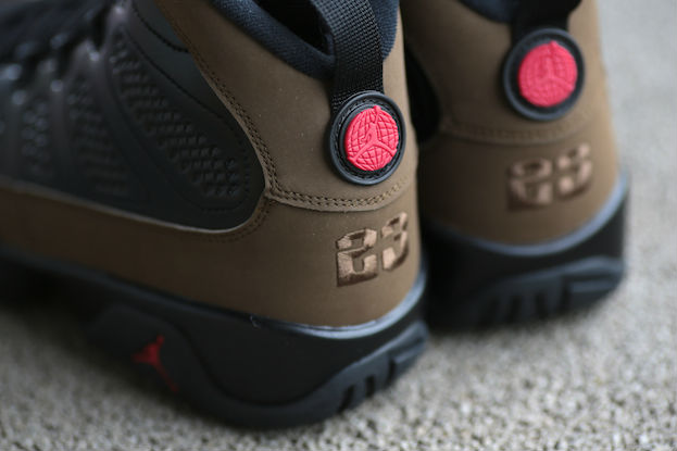 Air Jordan IX 9 Olive Retro 302370-020 (3)