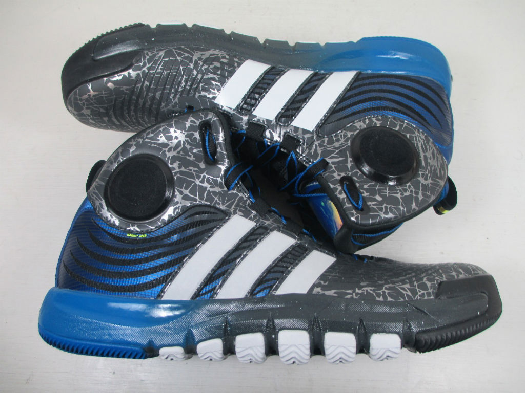 adidas D Howard 4 - Grey/Blue Sample (6)