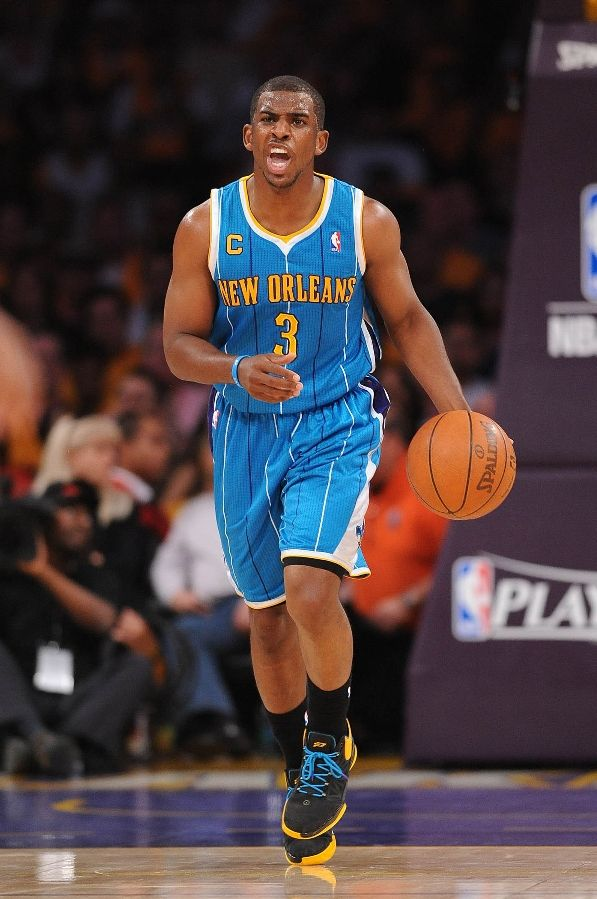 Chris Paul wearing the Jordan CP3.IV
