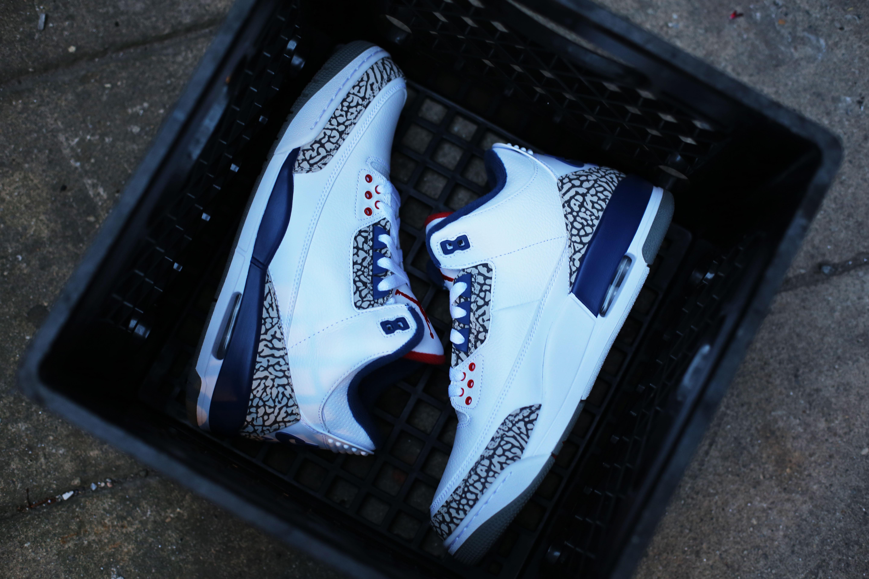 Nike Air Jordan 3 True Blue 854262-106 Side