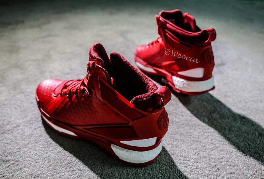 5930d28488d Of Course There s a Red adidas D Rose 6. Get a first look ...