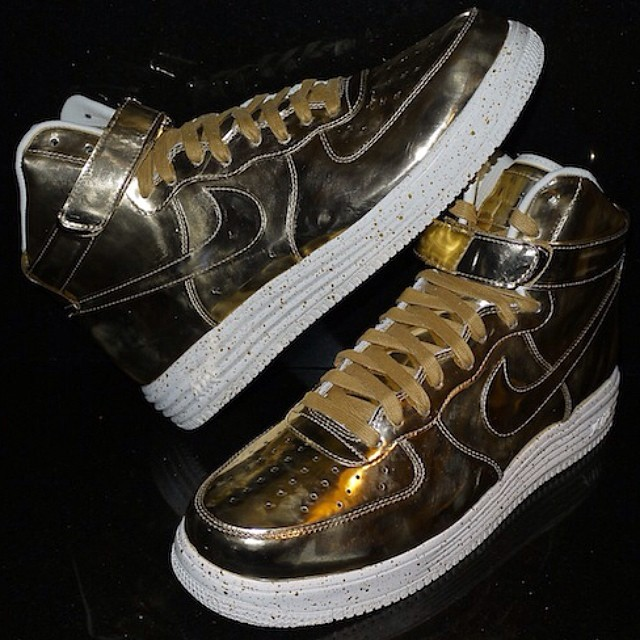 DJ Clark Kent Picks Up Nike Lunar Force 1 Liquid Metal