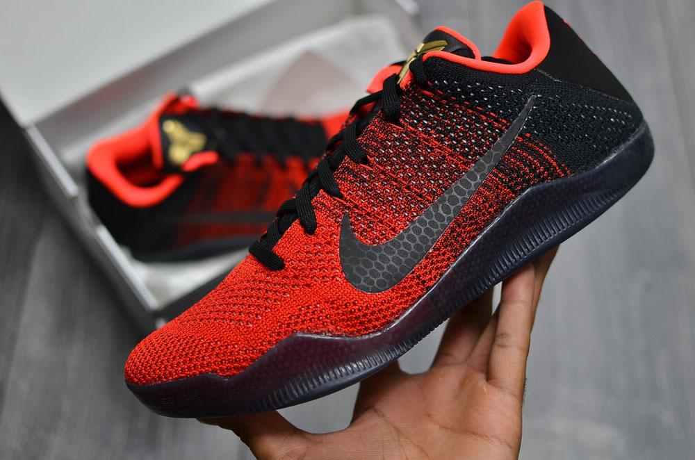 654dbe01bdc9 Here s What the  Achilles Heel  Nike Kobe 11 Looks Like In-Hand ...