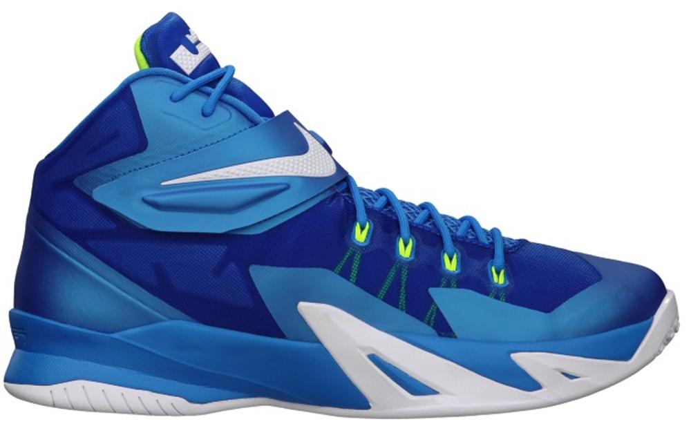 Nike Zoom Soldier VIII Photo Blue/White-Volt-Hyper Cobalt