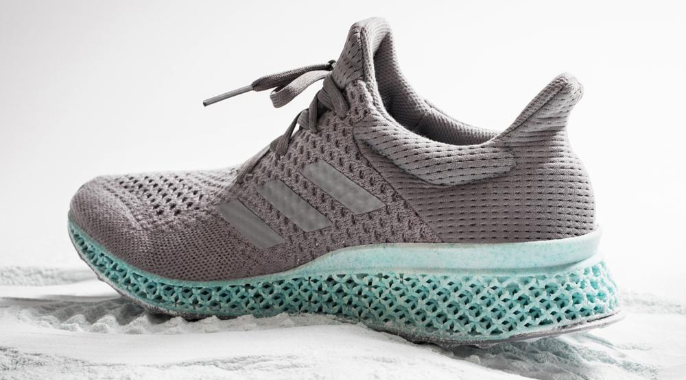 Ocean Waste Into 3D-Printed Sneakers