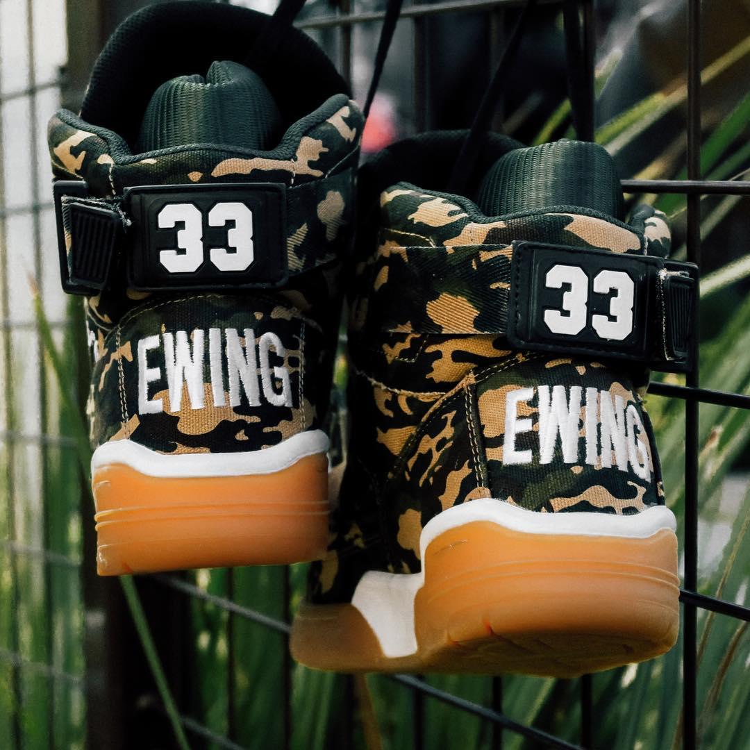 Ewing 33 Hi Camo Heel