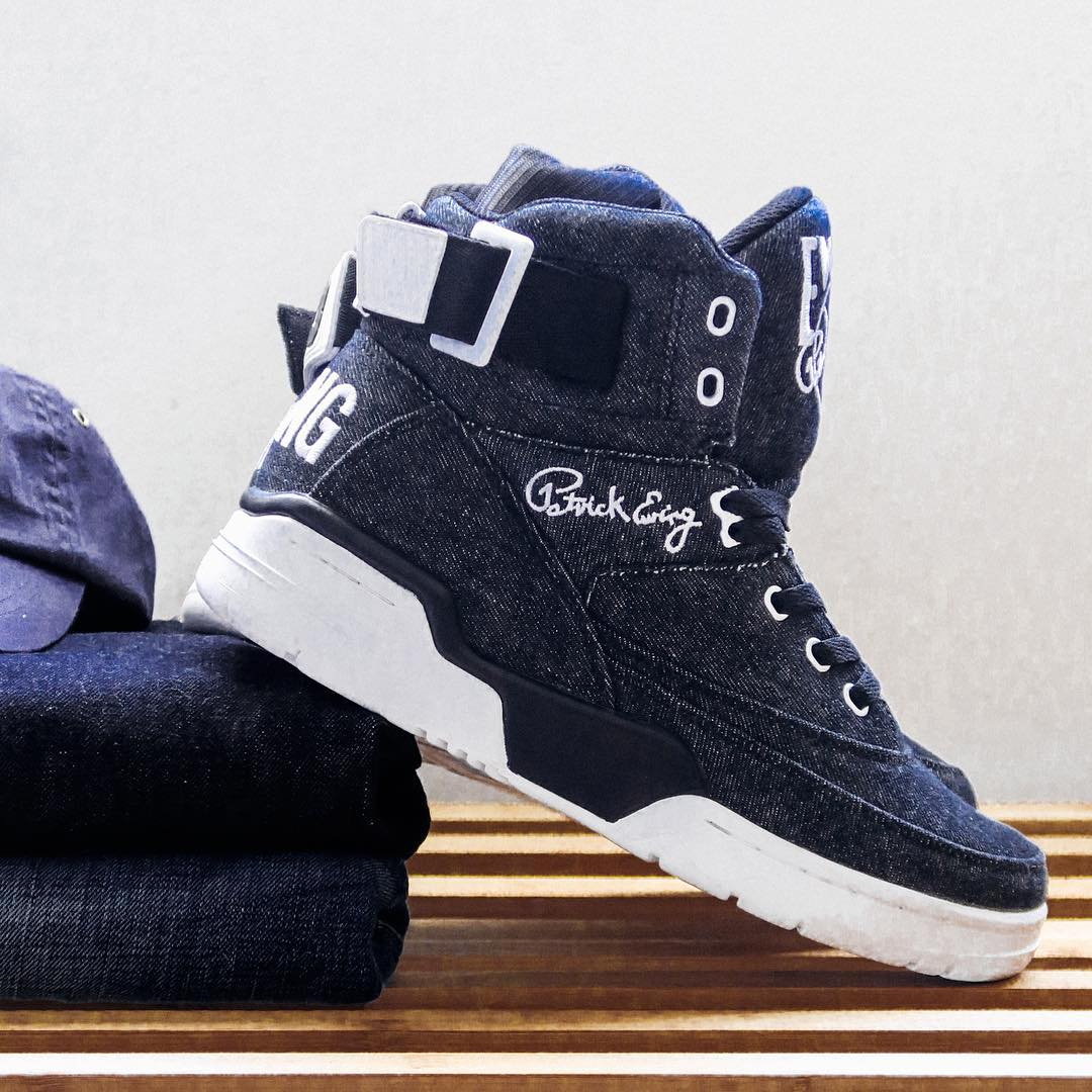 Ewing 33 Hi Denim Side