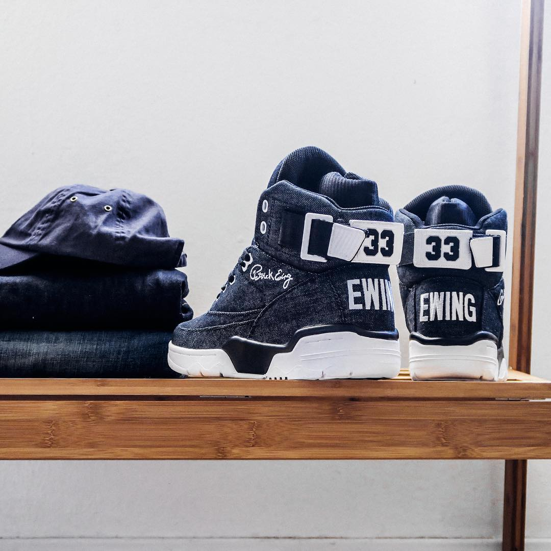 Ewing 33 Hi Denim Heel