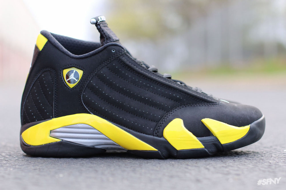 air jordan xiv thunder from down under