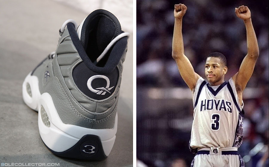 Reebok Question Georgetown Hoyas Allen Iverson Retro (5)
