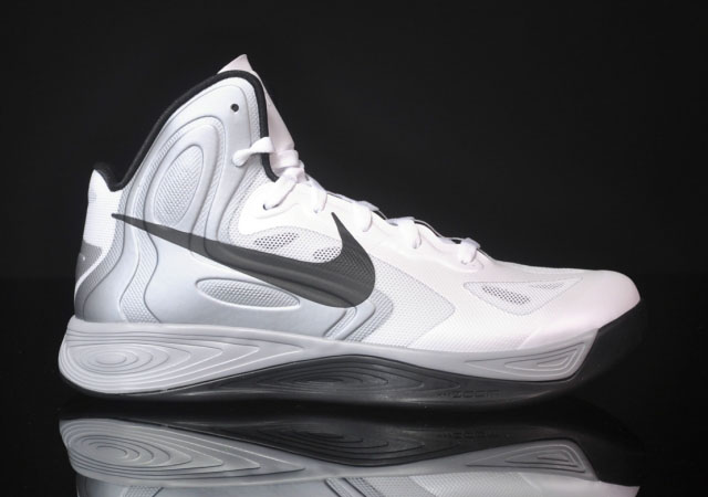 Nike Zoom Hyperfuse 2012 White Black Wolf Grey 525022-100 (1)