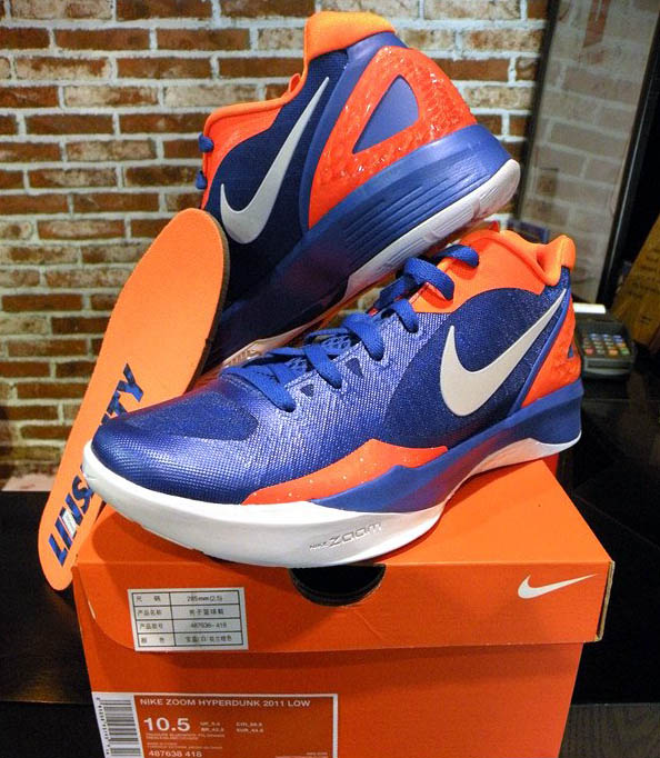info for 59545 6e82e Nike Zoom Hyperdunk 2011 Low Jeremy Lin Knicks PE Linsanity 487638-418 (1)