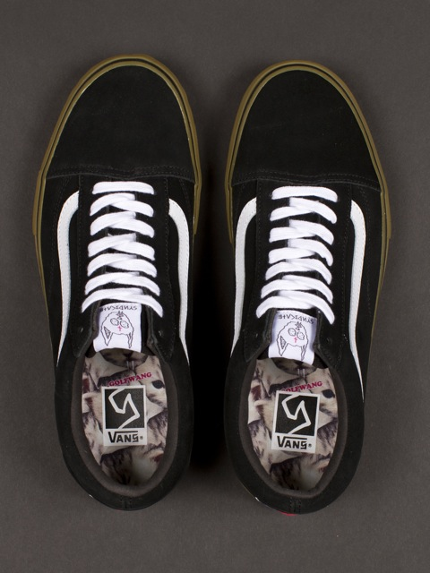 odd future old school vans black