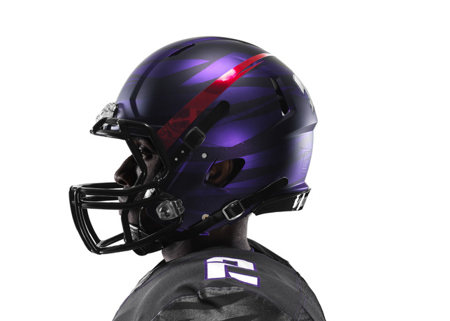 See TCU s new uniforms in action when the Horned Frog s take on LSU at  Cowboys Stadium on Saturday 95531942a