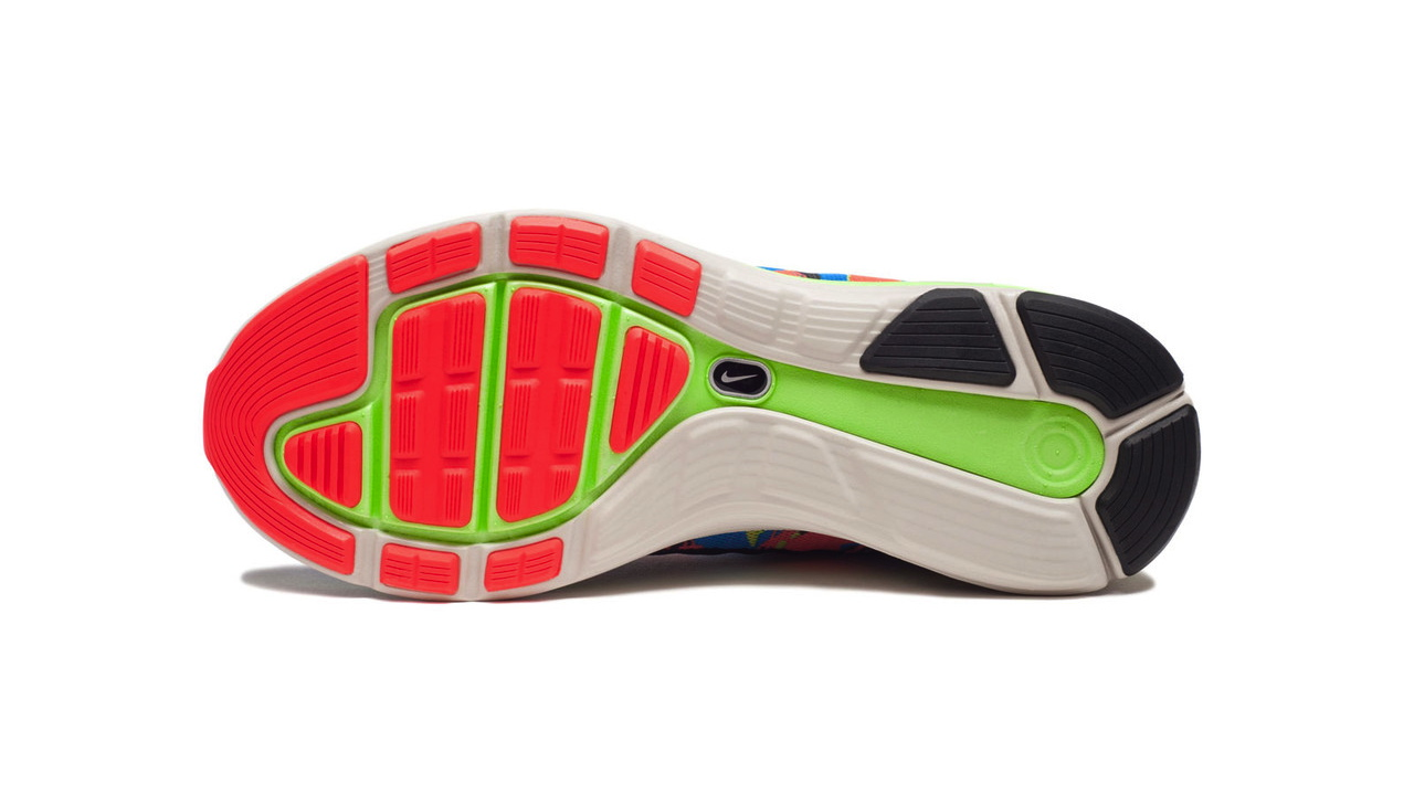 new product e0359 42a04 ... closeout nike lunarglide 5 ext blue hero atomic red flash lime f3cfd  8ed3d