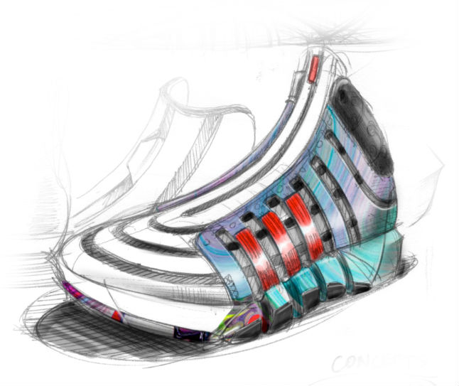 adidas D Howard 4 Sketch (1)