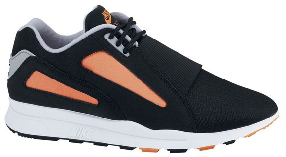 The Black Wolf Grey-Total Orange Nike Air Current is now available over at  NikeStore. 4a96476c91
