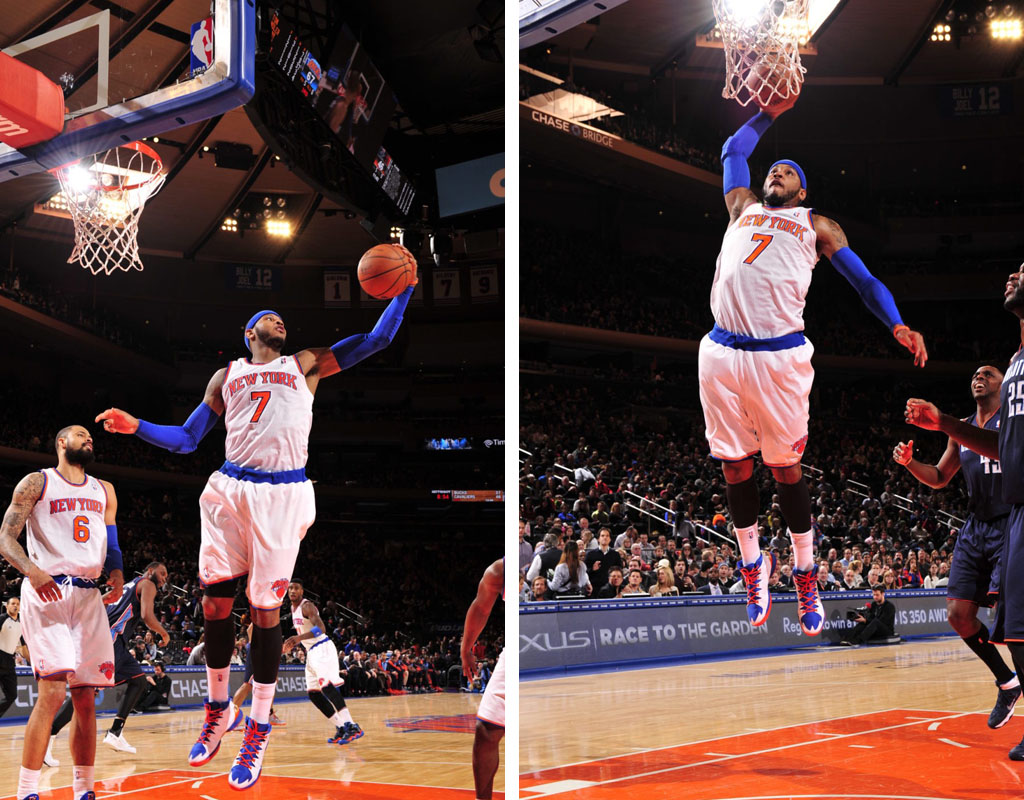 Carmelo Anthony Scores 62 Points in 'Knicks' Jordan Melo M10 (2)