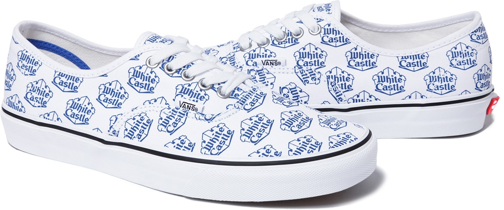 Vans Authentic White/Blue